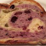 ブルーベリーのパン。