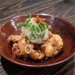 「たこ唐揚げ」は、サクッとプリジュワッと♪揚げの香ばしさと、たこの甘やかな旨味!日南市じとっこ組合 横須賀中央店