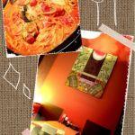 ナスとチーズのトマトクリームパスタ ¥?