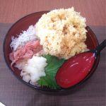 駿河丸 NEOPASA静岡店 初新東名! まだまだ人は多いです。しらすと桜えびのかき揚げ丼
