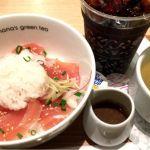 nana's green teaにて映画前のゴハン