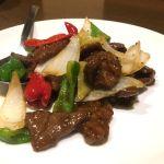 牛肉の炒め物