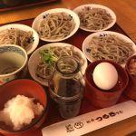 今日のお昼はベル(福井)のつるきそばで越前皿そばを頂きました!
