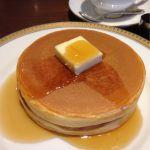 丸福珈琲店 名古屋三越店にお邪魔しました。ザ!ホットケーキ。たまにはいいですね、こういうの。