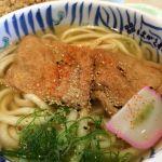 はがくれ 神戸三田プレミアム・アウトレット店きつねうどんとかやくごはん🎵こんな麺やったかな…