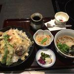 美々卯 横浜そごう 野菜天丼セット