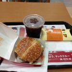 マクドナルド  札幌苗穂イオンショッピングセンター店BLTとベーコンポテトパイ!