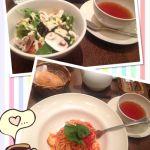 ランチ@アフタヌーンティー・ティールーム 横須賀モアーズシティマッシュルームのサラダ好きです💕