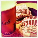 ハンバーガー無料が今日までなので消費に来た@マクドナルド 青森サンロード店