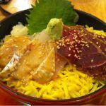 すし京辰 東京駅サウスタワー店でランチ。プリプリな鯛と鮪の付丼1000円。ちょっとネタが少なかったけど、美味しかった☆