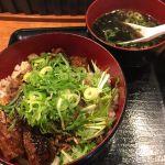 ハラミ丼734円、旨し!!肉工房 千里屋 ホルモンバル