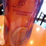 スターバックス・コーヒー 泉中央セルバ店マンゴーのタンブラー買っちゃった☆彡皆がフラペチーノを頼む中ホットのフルリーフチャイラテ