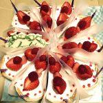 輪花型 イチゴのティラミス 〜ミルクティ風味〜