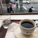 デリフランセ・海浜幕張店   コーヒー       窓辺の席からマンウォッチング