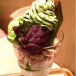 nana's green tea 抹茶ガトーショコラぱっふぇ