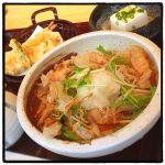 天麩羅としらす丼とおろしそばランチ ¥1,000 ◇ つづらお 町田店