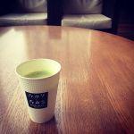 京都抹茶ラテ。
