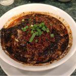 ぷんぷくまる 流山おおたかの森S・C店  たっぷり黒胡麻担々麺です。チャーハンとセットで頂きました。