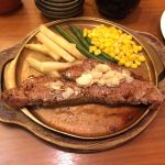 ステーキサロン・アンガス 博多デイトス店 贅沢にステーキランチして大阪帰ります!