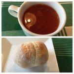 GREEN GRILL 渋谷店   スープとパン   甘辛いトマトスープが美味しい!