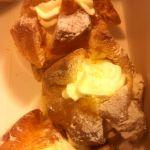 アンリ・シャルパンティエ 浅草松屋店『プティングシュクリーム』中にプリンが入っています。