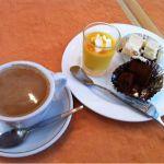 イタリアンレストラン タベルナ1/4に来ました。ケーキセットいただきました。