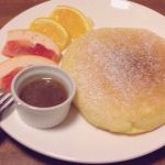 Cafe Rhinebeck京都いち美味しいパンケーキ!♡あったかふわふわで美味しかった(๑′ᴗ‵๑)