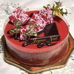 昨年のクリスマスケーキはベルギーのケーキ屋さんヴィタメールでノエル・ルージュを頂きました!