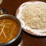 金曜日カレー@ガンディー今日は茄子キーマ。#飯テロ