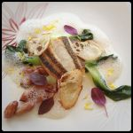 RESTAURANT KEI三河産鮮魚のポワレ大橋さんの青梗菜を添えて