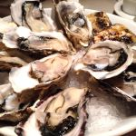 FISH & OYSTER BAR シブヤ西武店で生牡蠣