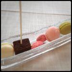 RESTAURANT KEI小菓子シュガーアーモンドショコラマカロン