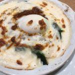 半熟卵のミートドリア