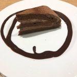 ペルー産カカオのチョコレートケーキ