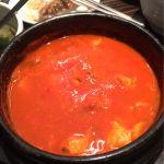 KollaBo  韓国レストラン&カフェ 池袋店。スンドゥブチゲ定食。