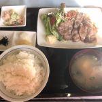 生姜焼き定食   #お食事処 暖