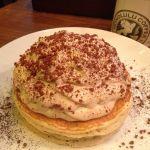 コナコーヒークリームパンケーキ♡ボリューミーだけど生地もクリームも思ったよりもあっさり♪HONOLULU COFFEE 表参道店