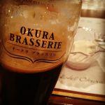 スタウトにはバニラアイス。 @ホテルオークラ福岡 オークラブラッスリー