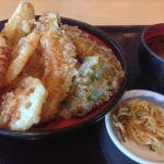 日本橋からり イオンモール甲府昭和店で野菜天丼