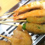 神楽食堂 串家物語 北花田ダイヤモンドシティ店 エビをたくさん食べられて幸せー\(^o^)/たい焼きが個人的に好き( ´ ▽ ` )