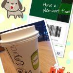 お友達にもらったeギフトを使って♡最近改装したスターバックス・コーヒー 横須賀モアーズシティ店にて。