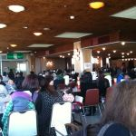 岩手県花巻市・マルカンデパート大食堂なう。タイムスリップした気分…