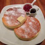 リコッタチーズのパンケーキ♡withフランボワーズ