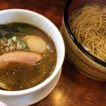 今年も温つけ麺の季節になりました。チャーシューが鴨になってる♪@つけ麺目黒屋