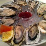 ガンボ アンド オイスターバー 梅田NU茶屋町店兵庫県産のカキは大きくて、クリーミー‼初夏の、牡蠣も美味しいんだね!