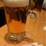 メニュー上は「アサヒ スーパードライ」と記されているが、明らかに発泡酒のボヤッとした味わい。。。ヽ(′Д`;)ノ横浜中華街 華龍飯店
