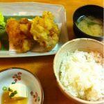 福津留の鶏の天ぷら