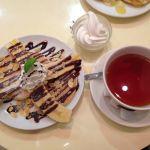 テ・ニナス 横浜ワールドポーターズ店紅茶の専門店でいただけるパンケーキです
