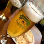 ち〜っす☆〜(ゝ。∂) from 新宿 BERG ♪「エーデルピルス」でカンパ〜イ ♪ #ごちそうフォト #ビール #beer #エーデルピルス #edelpils