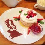 パンケーキママカフェ VoiVoi♡クリスマスパンケーキ!見た目は可愛いし味は美味しい〜💕
